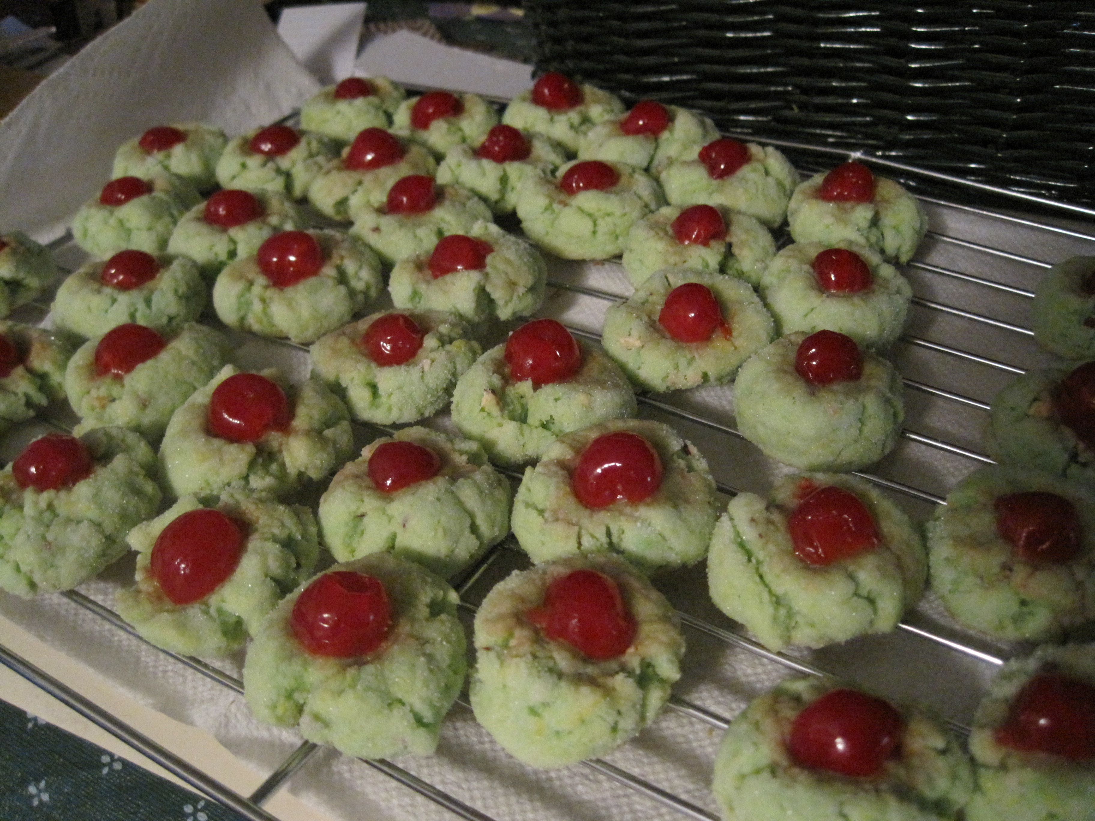 Pistachio Drop Cookies The Story And The Recipe Megsnotions